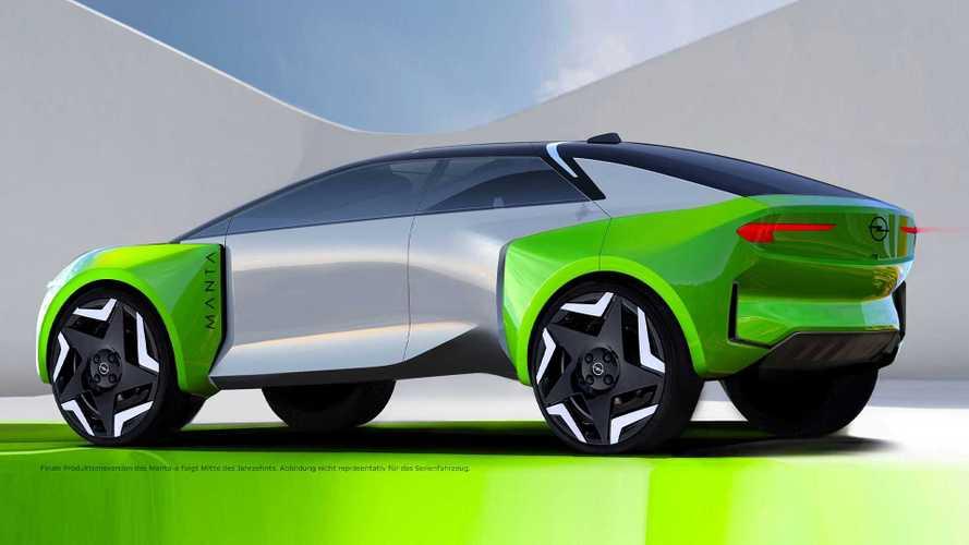 Opel Manta Elektro kommt um das Jahr 2025 herum