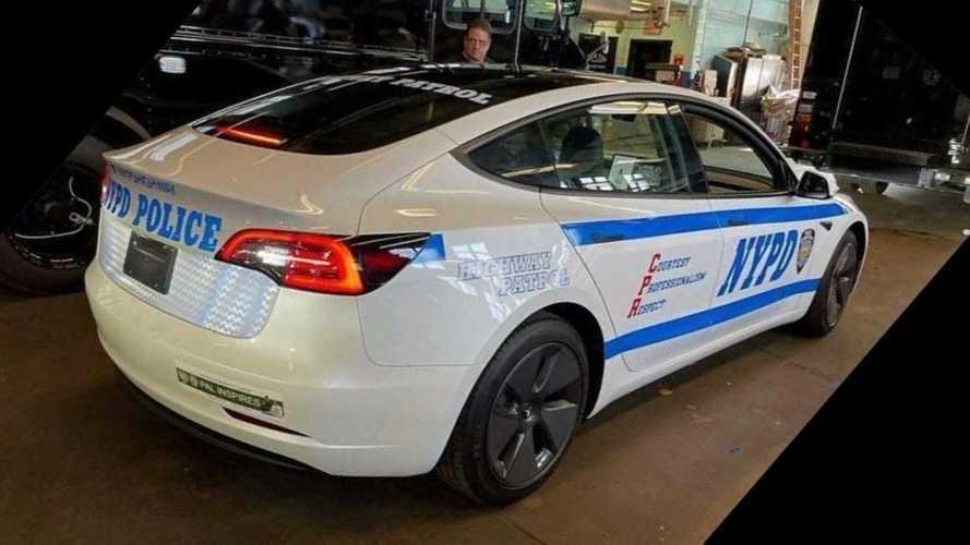 La Polizia di New York ha scelto la Tesla Model 3