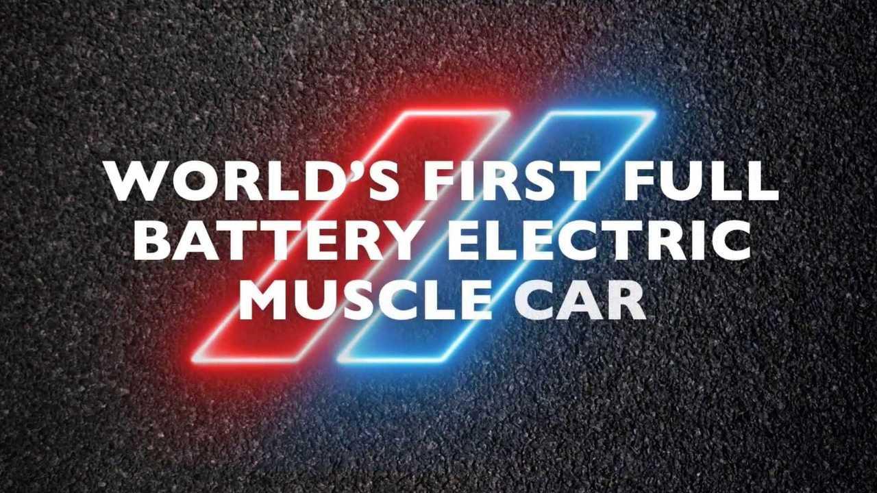 Dodge Muscle Car Electric Concept