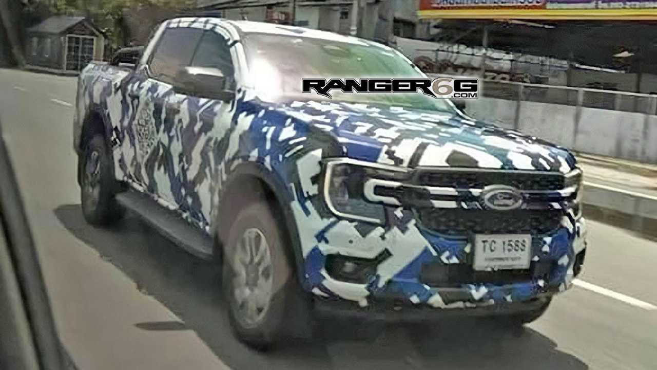 2022 Ford Ranger casus fotoğrafı.
