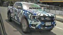 Neuer Ford Ranger (2022) zeigt sich mit Front im Maverick-Stil
