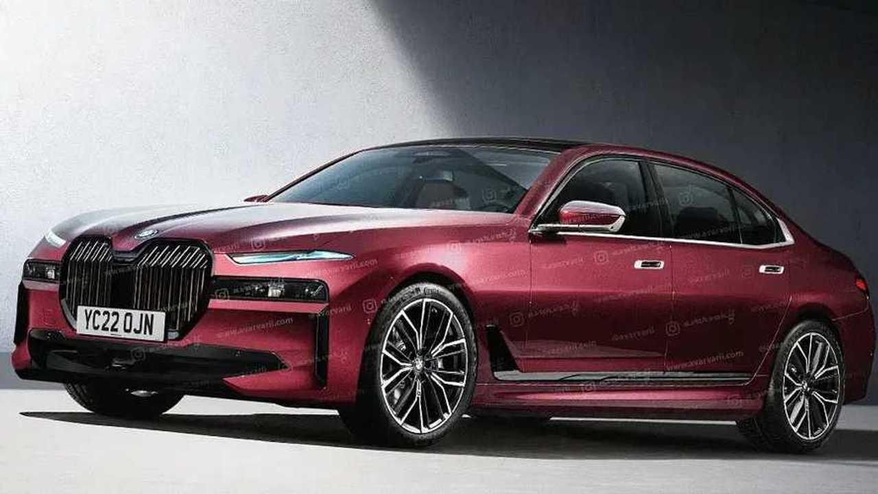 BMW i7 renderkép