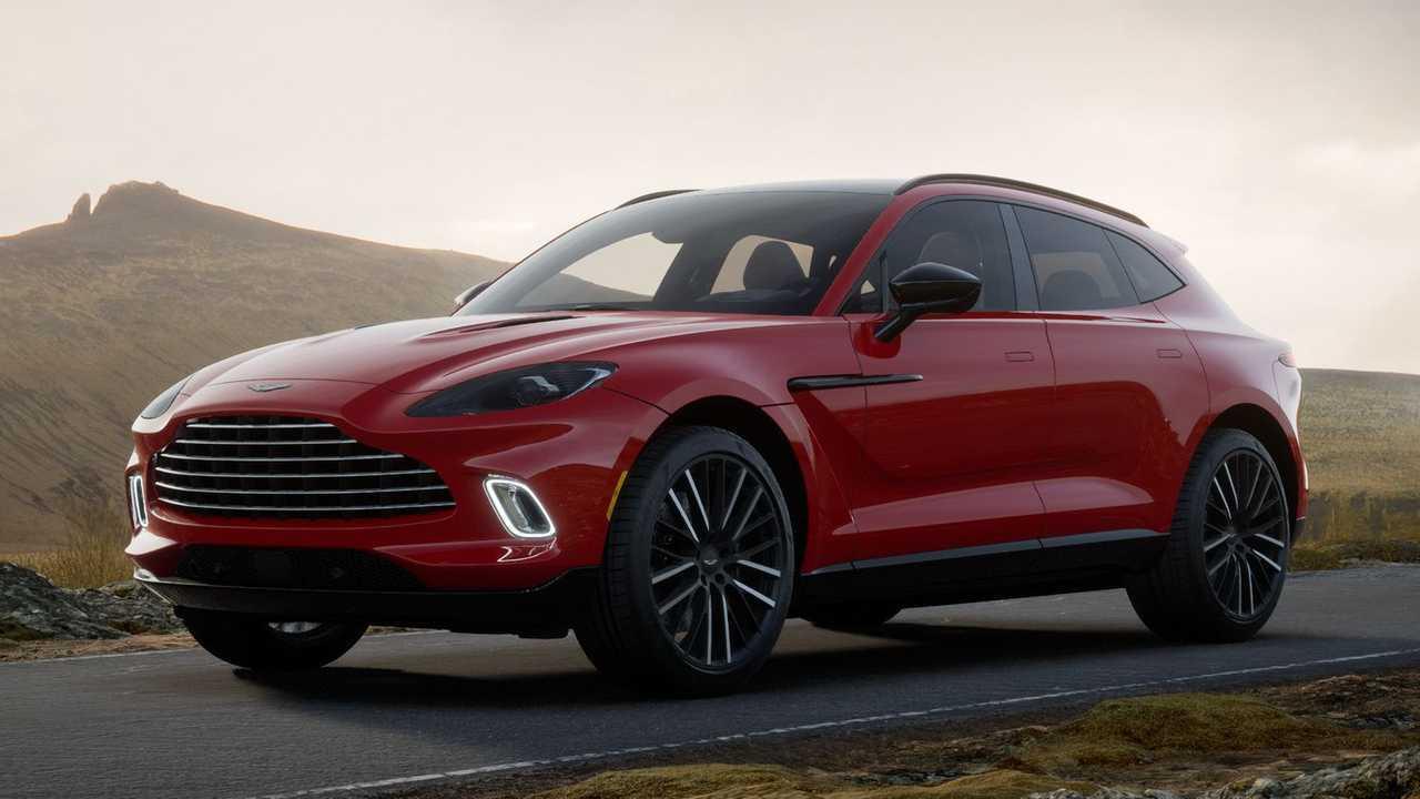 Aston Martin DBX может получить до 6 разных версий