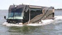 camping car bateau eau