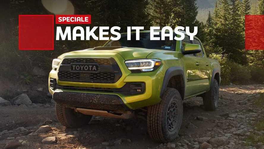 Toyota Tacoma 2022, il fuoristrada per tutti. La prova
