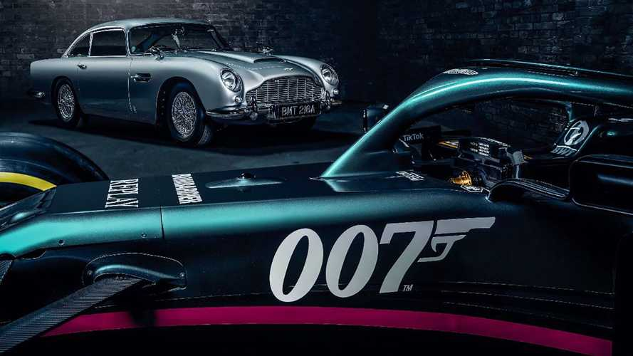F1: Aston Martin to race with 007 Bond branding at Monza