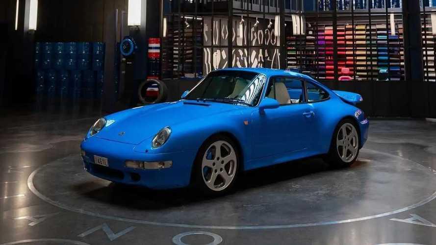 Garage Italia s'occupe d'une Porsche 911 Turbo Type 993