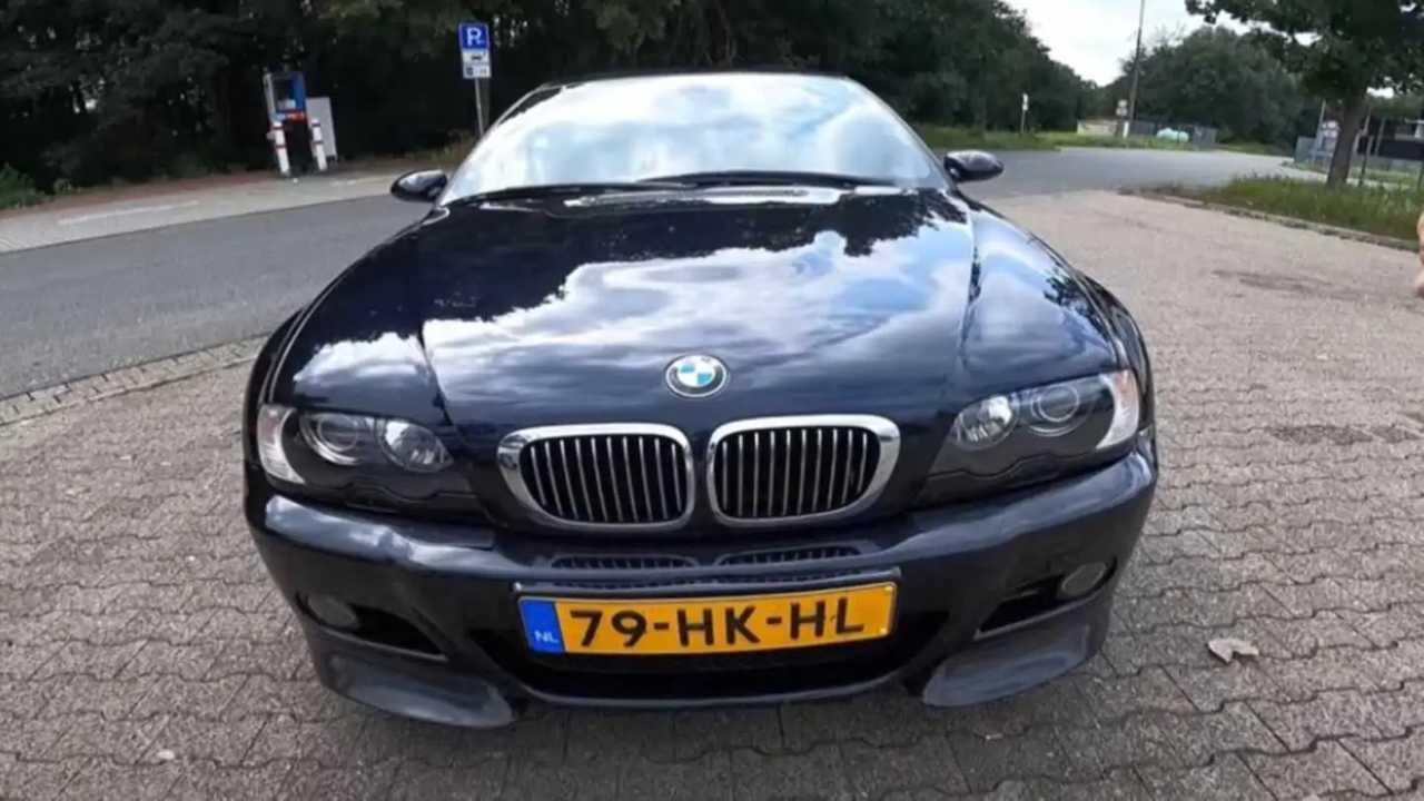 BMW M3 E46 on the Autobahn