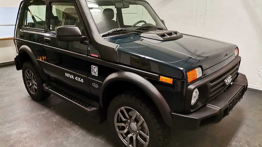 Lada Niva Lives Again In Germany With 50th Anniversary Edition