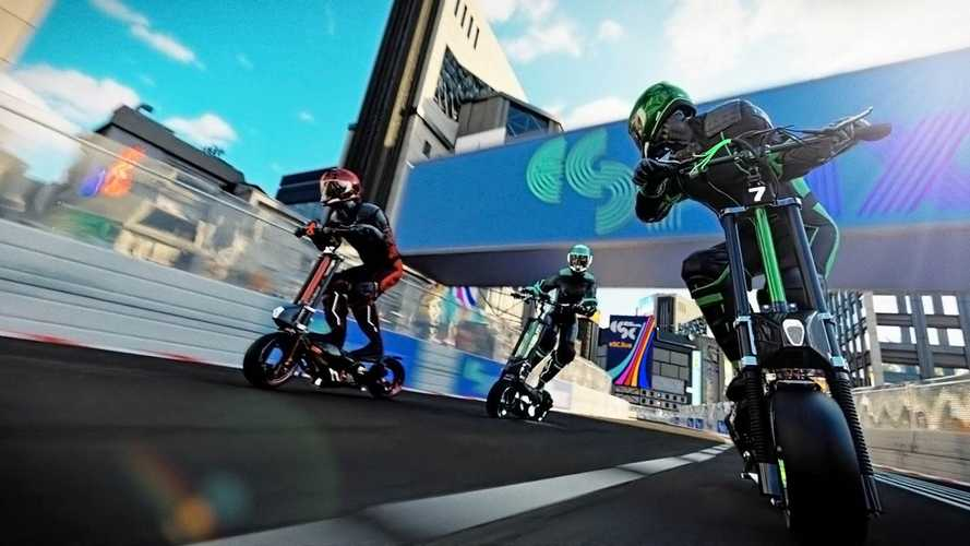 eSkootr: An Adrenaline-Pumping Electric Scooter Racing Series