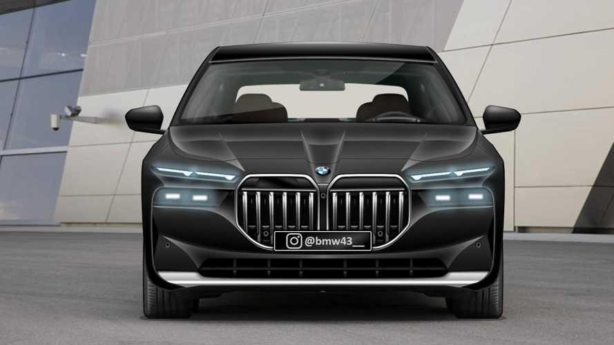 Így mutathat majd az osztott lámpás 7-es BMW
