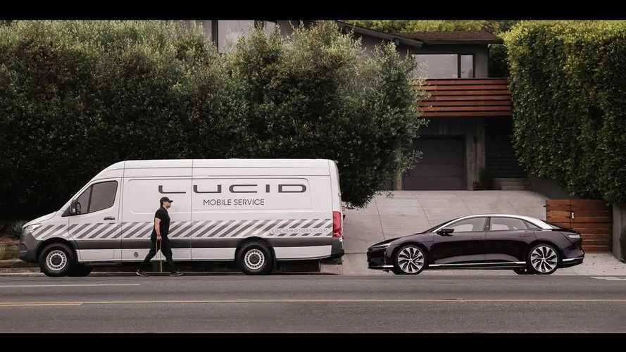 Lucid Announces Mobile Service Program, Vehicle Warranty Terms