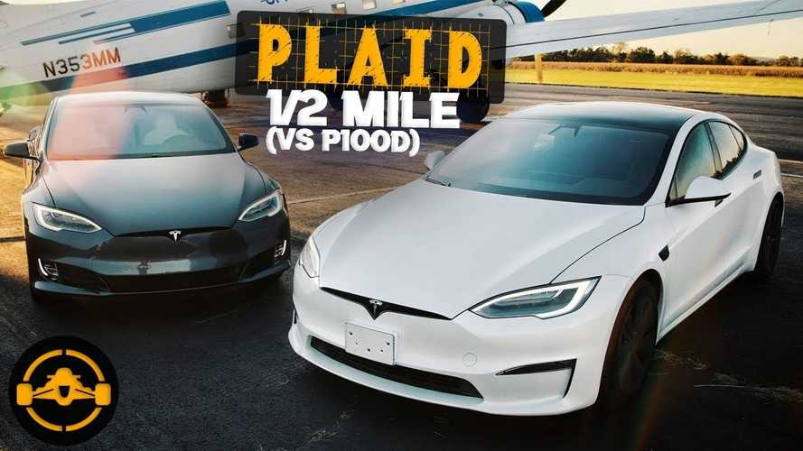 """Tesla Model S Plaid Acceleration """"Too Fast For Its Own Good"""""""