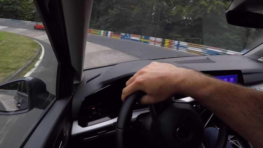This bog standard MK.8 VW Golf TDI does a lap of the Nurburgring