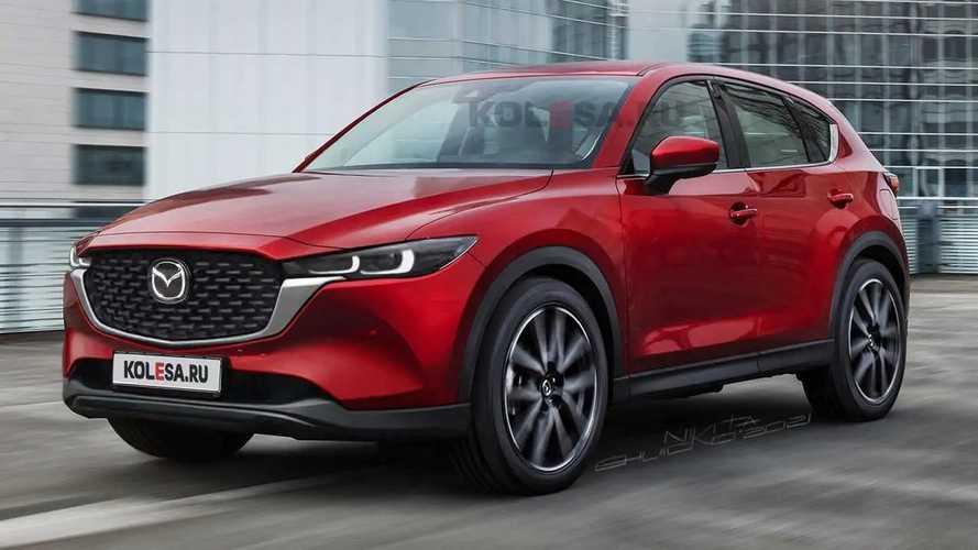 2021 Mazda CX-5 render'ları araca ışık tutuyor