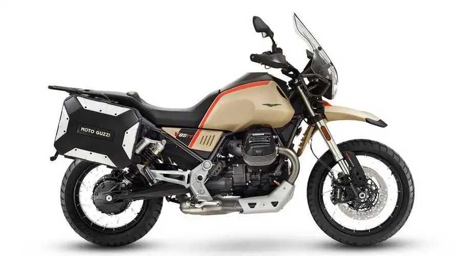 Masuk Indonesia Moto Guzzi V85 TT Travel Dibanderol Rp700 Juta