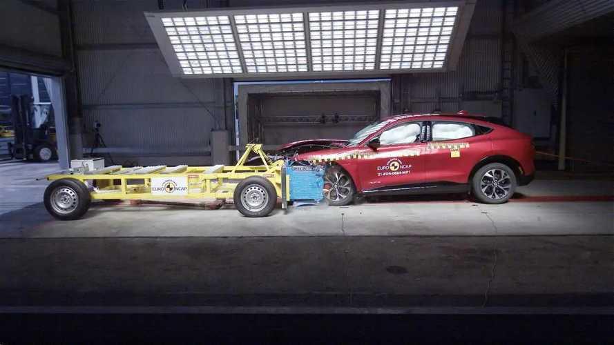 2021 Ford Mustang Mach-E Euro NCAP testleri
