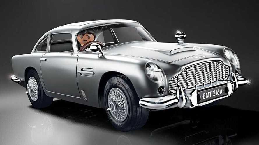 Aston Martin DB5, il modellino ispirato al film Goldfinger