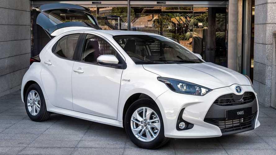 Toyota Yaris, İspanya'da hafif ticariye dönüştü