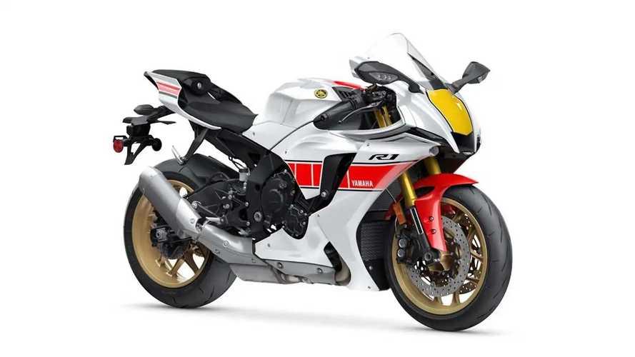 2022 Yamaha YZF-R1/R7/R3 World GP 60th Anniversary Edition