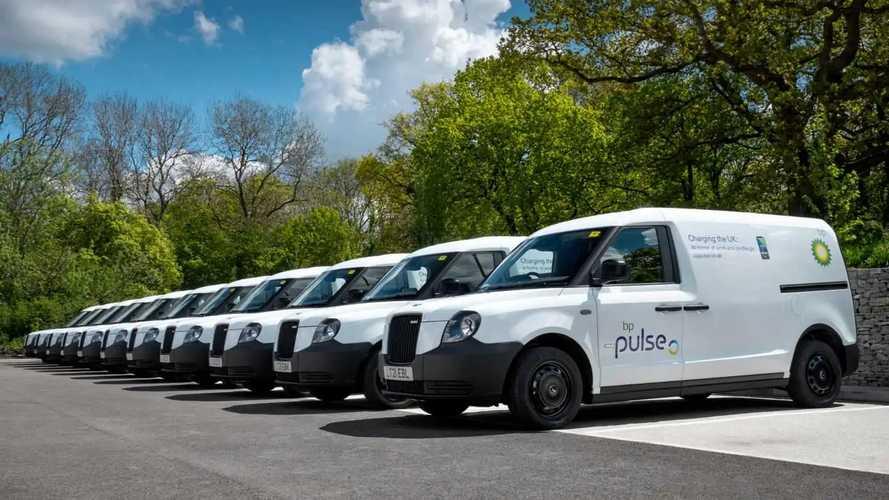 BP Pulse charging network gets new fleet of electric vans