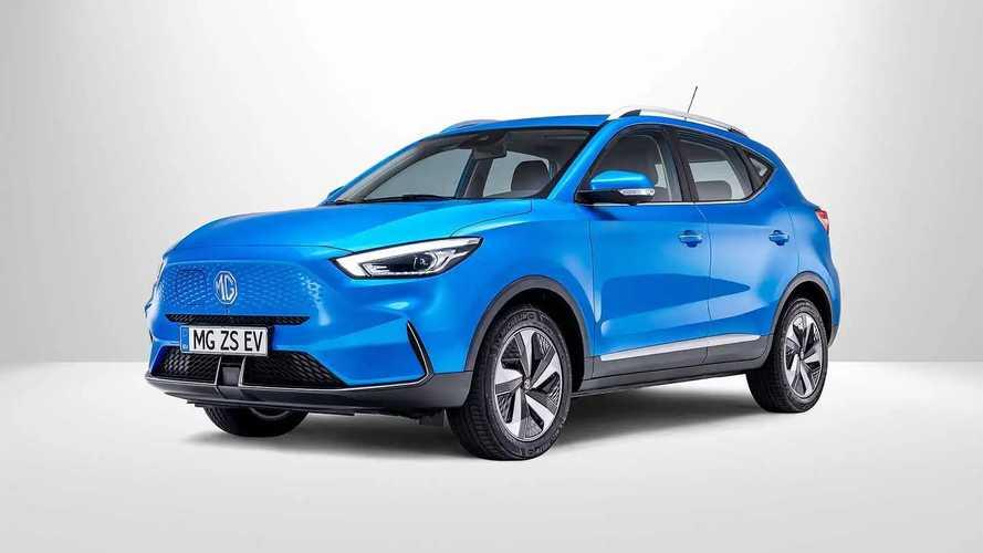MG ZS EV restylé (2021)