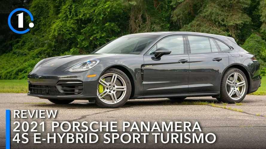 2021 Porsche Panamera 4S E-Hybrid Sport Turismo Review: A Case For Everything