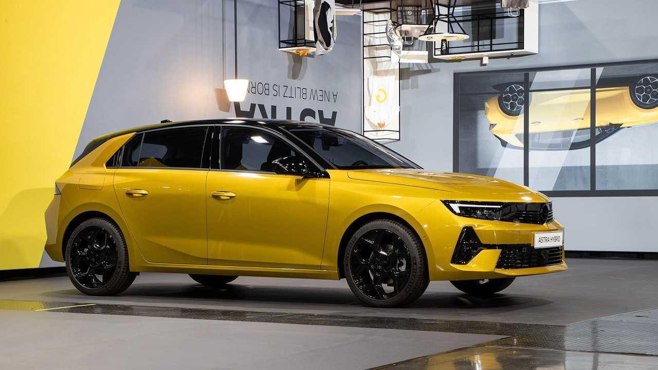 Opel Astra (2021) Weltpremiere