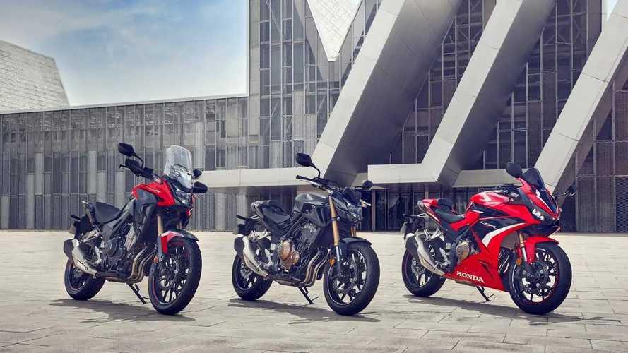 Honda muda a linha CB 500 para 2022... Na Europa