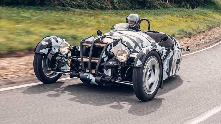 مورغان تشوقنا بسيارة ثلاثية العجلات ستنتجها العام المقبل