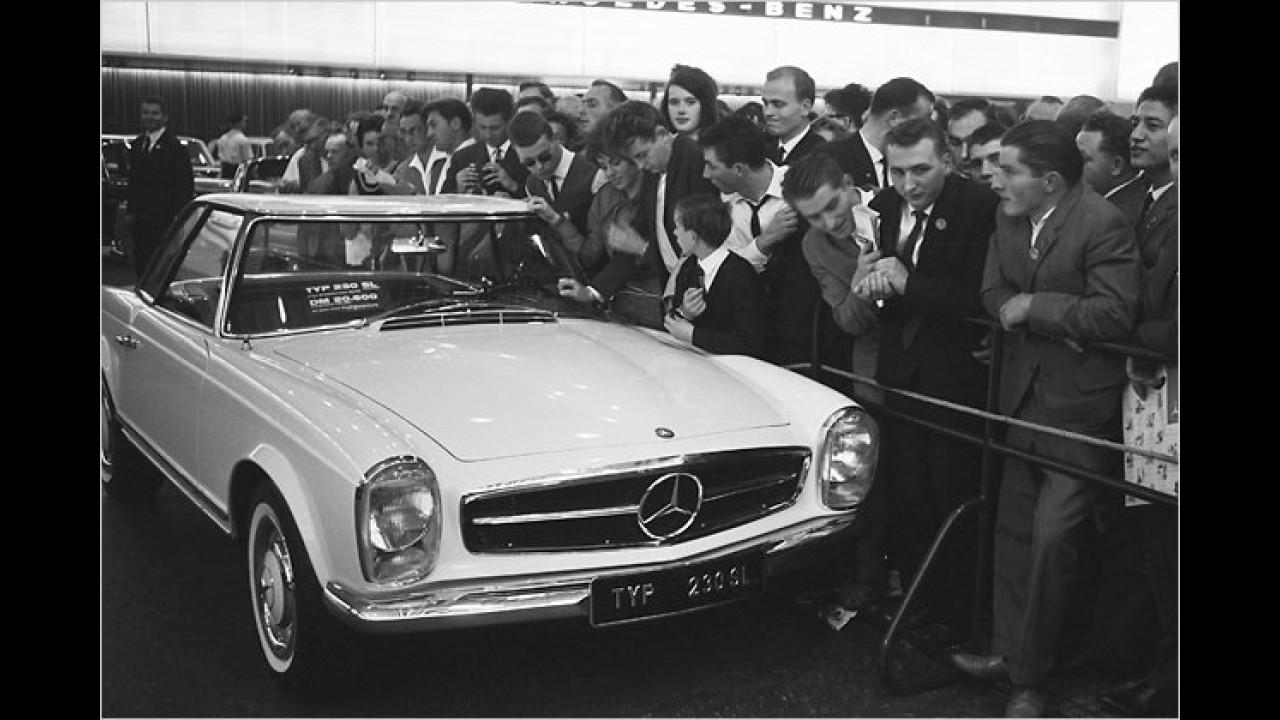 12. Platz: Mercedes SL