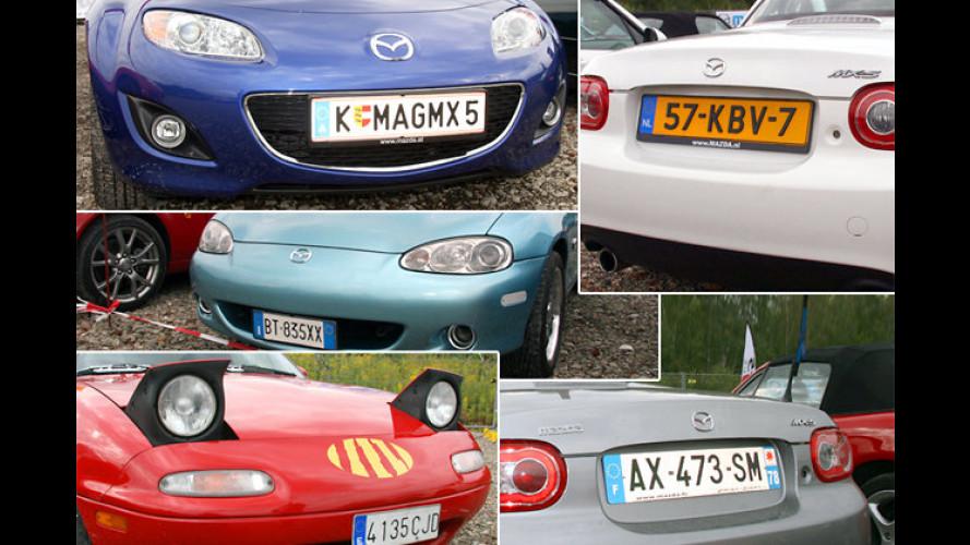 Mazda stellt Rekord auf: Längster MX-5-Korso der Welt