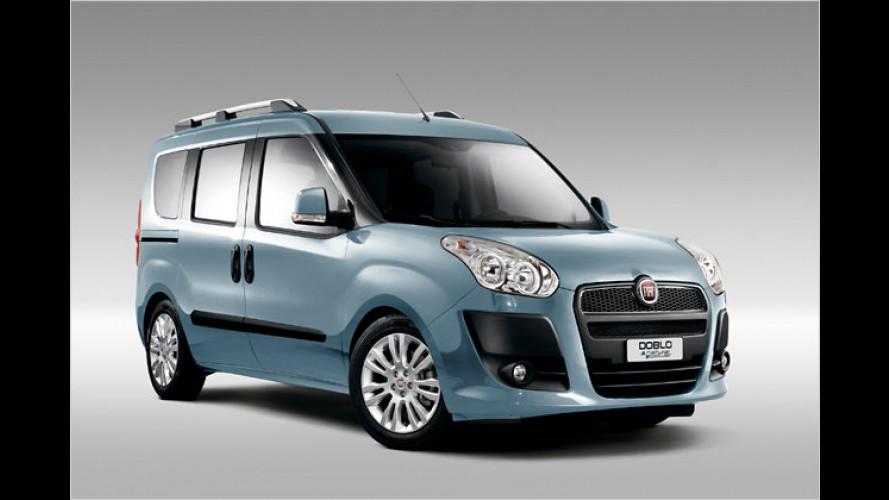Fährt mit Gas und Benzin: Fiat Doblò Natural Power