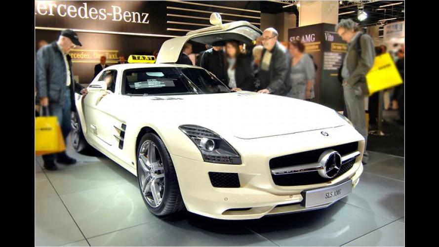 Taxifahrers Traum: Mercedes zeigt besonderen SLS AMG