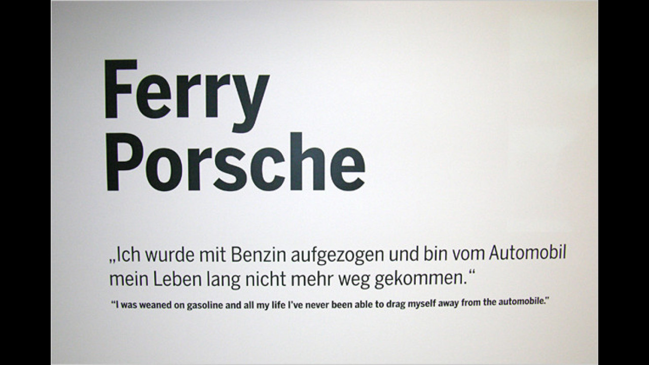 100 Jahre Ferry Porsche