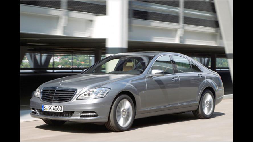 Mercedes: S 350 BlueTEC bekommt Start-Stopp-Automatik