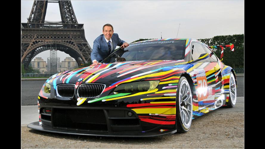 Explosiv-Design: Neues BMW-Art-Car von Jeff Koons