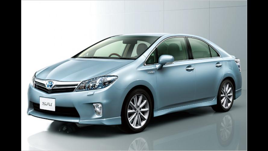 Toyota Sai: Edel-Prius mit Stufenheck