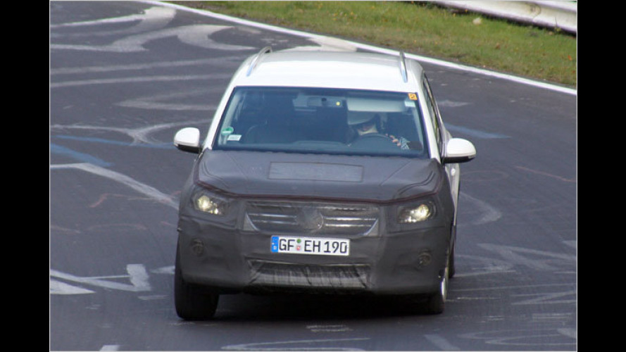 Neues VW-Markengesicht: Tiguan als Erlkönig erwischt