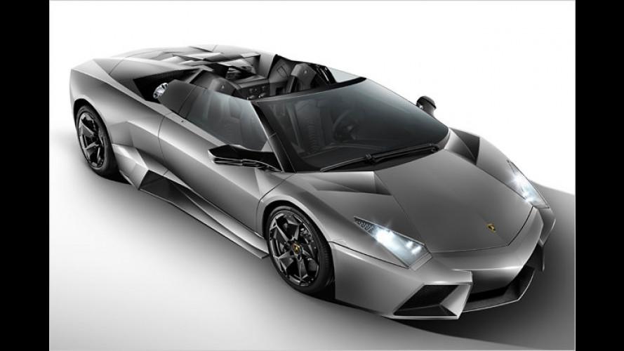 Rarer Lamborghini Reventón Roadster: Offener Stier