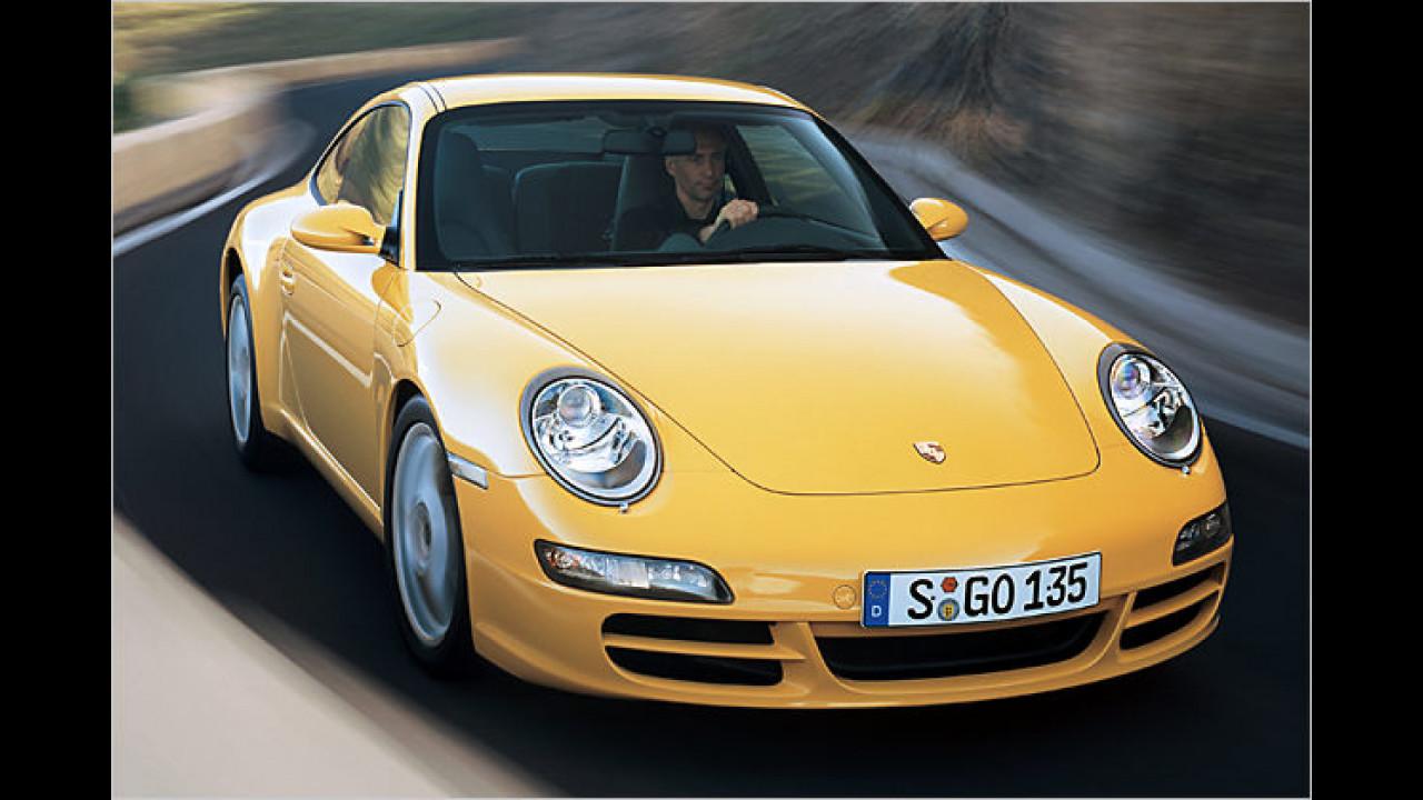 Platz 17: Porsche 911 Carrera Coupé