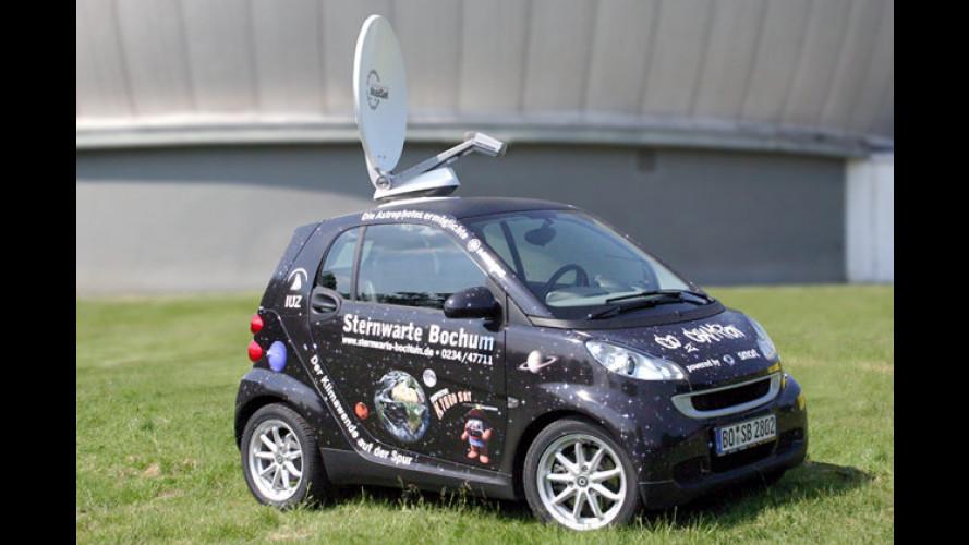 Smart Sat-Mobil: Sternenkreuzer im Miniaturformat
