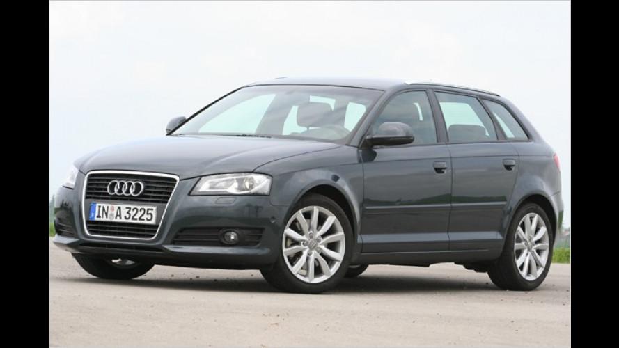 Mit schicken Wings: Frisch gemachter Audi A3 im Test