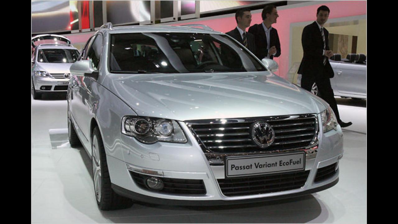 Mit 150 Turbo-PS soll der VW Passat Variant TSI EcoFuel eine neue Ära von erdgasbetriebenen Autos einläuten