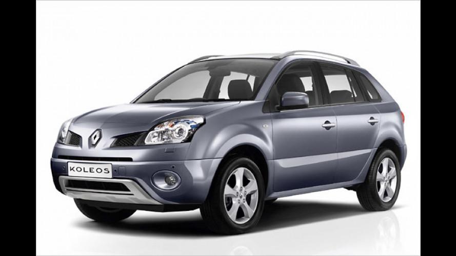 Renaults erstes SUV: Der Koleos geht bald in Serie