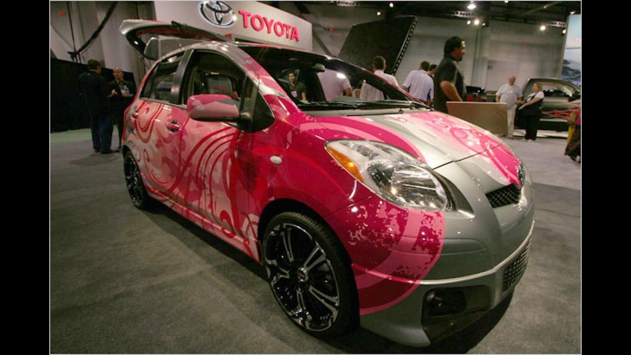 Toyota Hard Candy Yaris