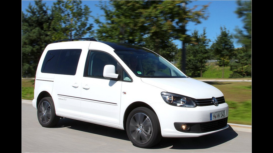 VW Caddy Edition 30 (2012) im Test