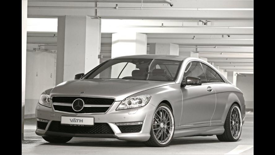 300 km/h schnell: Väth dreht beim Mercedes CL 63 auf