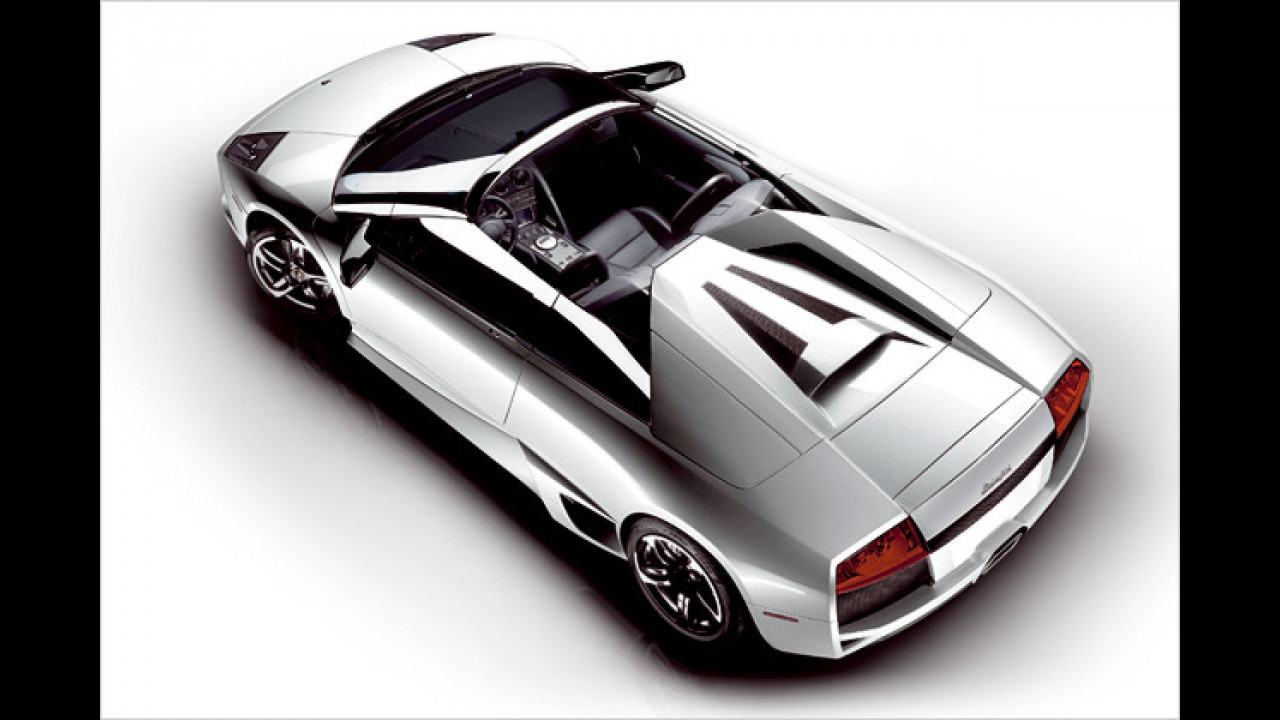 4. Platz: Lamborghini Murciélago Roadster LP 640