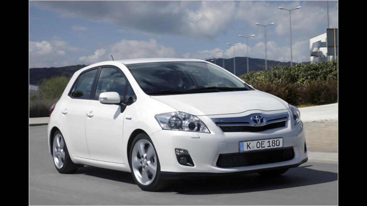 Hybridmodell: Toyota Auris 1.8 Hybrid Life